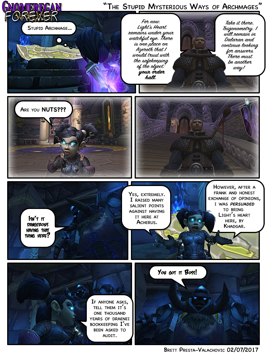 The Stupid Mysterious Ways of Archmages