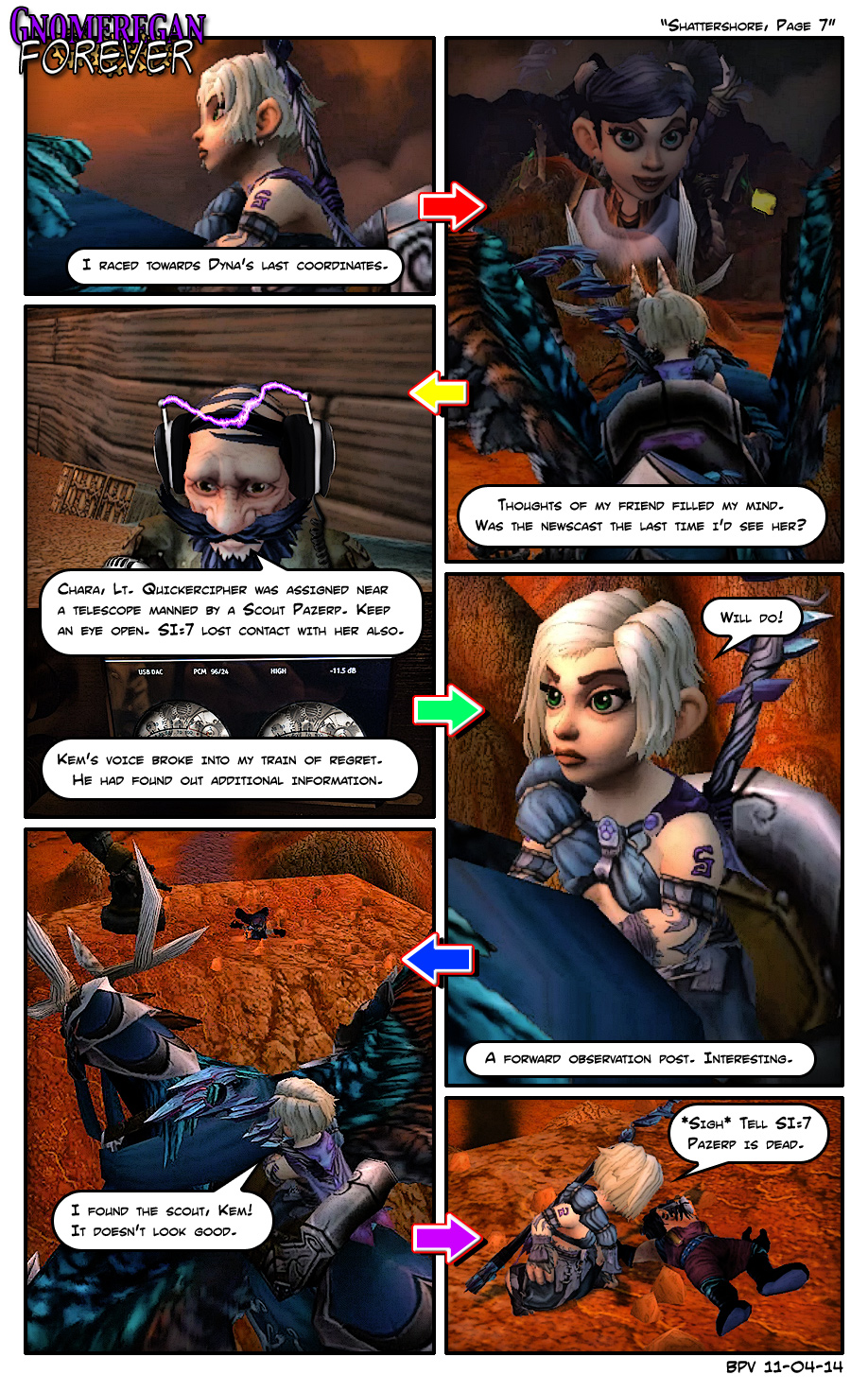 Shattershore, Page 7