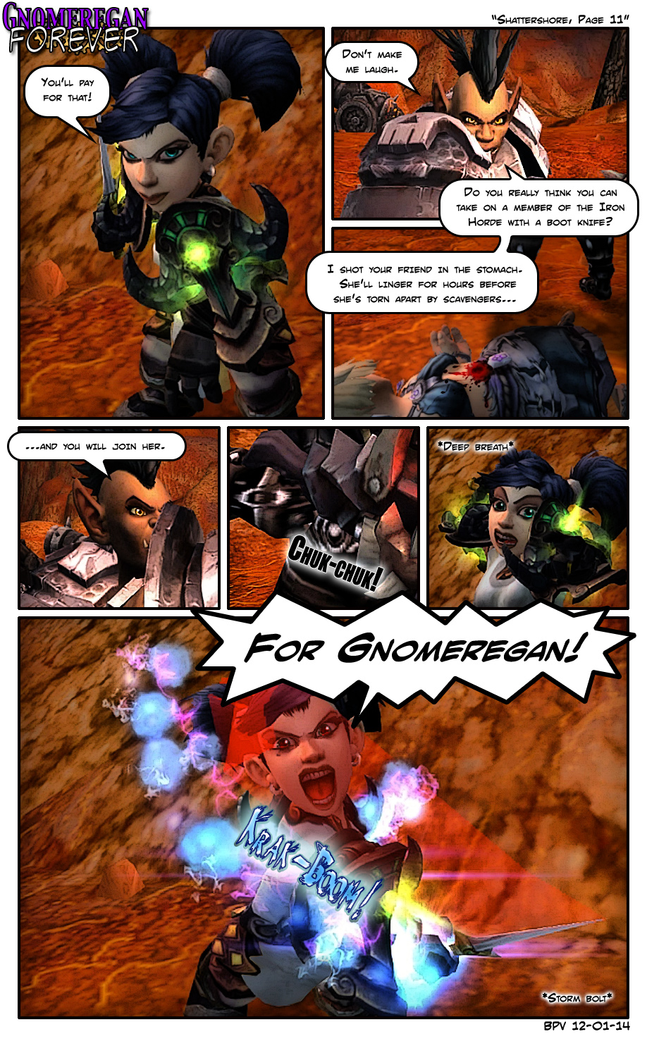 Shattershore, Page 11