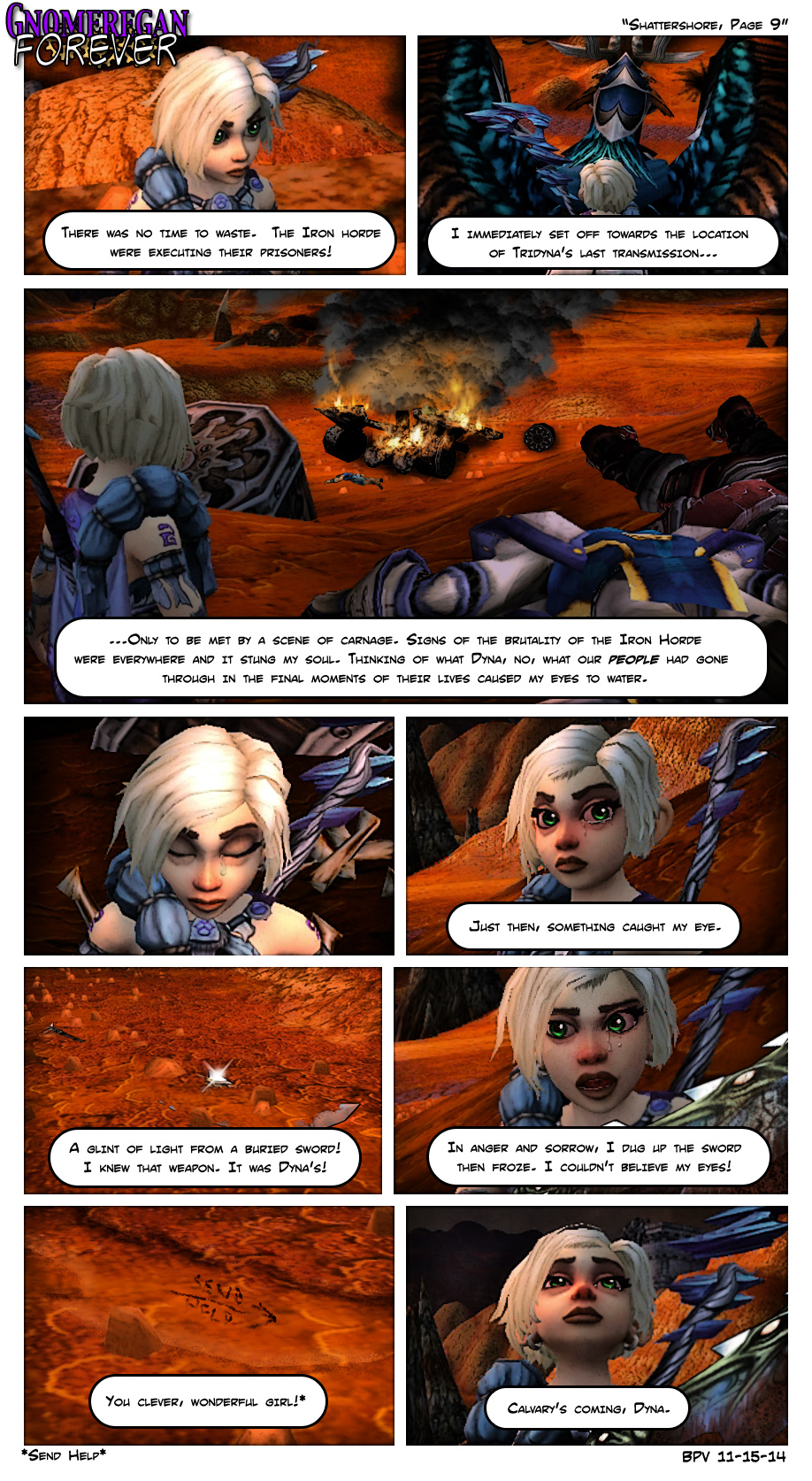 Shattershore, Page 9